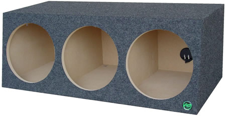 PTRI380 Subwoofer Enclosure - Audio Enhancers