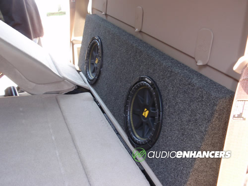 Crew90 Chevy Gmc 1500 Speaker And Subwoofer Boxes And