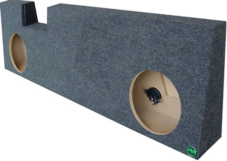 Speaker Subwoofer Enclosure Specifications Dual 10 Box 12 Available For An Up Charge May Require Shallow Mounts Forward Firing